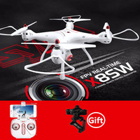 SYMA X8SW Wifi FPV Realtime Transmitter RC Drone Helicopter With Airpressure Hold Mode Altitude Height Hold