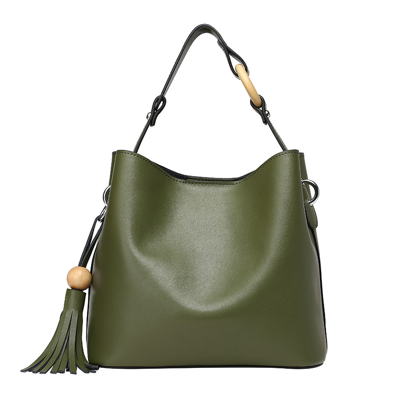 Fashion Genuine Leather bag Women Handbag Luxury Tassel Cowhide Women's Messenger bags Tote Green Red Leather Women Shoulder bag стоимость