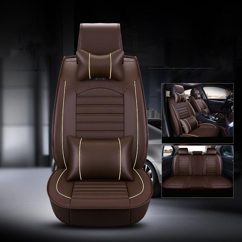 Genuine Leather Car Seat Cover For Honda Cr V Crv 2002