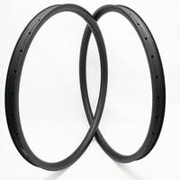 DAIRS 29er carbon mtb disc rims AM 36x28mm hookless carbon mtb rims 29er U shape race bike tubeless Mountain bicycle rim