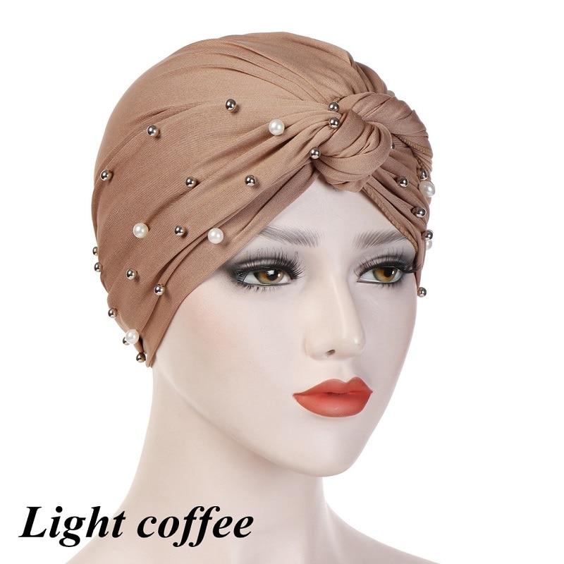 Headband-Indian-Muslim-Hijab-Islamic-Jersey-Beads-Cap-Stretchy-Pleated-Women-Turban-Hat-Knot-Head-Wrap(7)