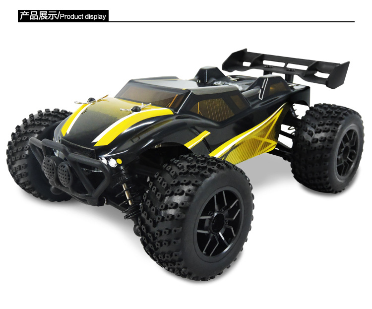 Rc Car 1/24 Scale Off Road Monster Truck 4wd Remote Control Car  High Speed Brushless Electric Car Remote Control Toys sst racing expedition xmt 1 10 scale go 3 3cc nitro engine power 4wd off road monster truck high speed rc car for hobby