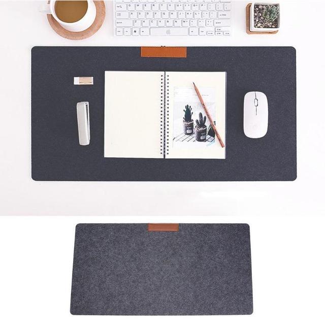 63*33 Large Soft Felt Cloth Desktop Mouse Pad Keyboard Office Laptop Notebook PC Table Mat Home Office Computer Desk Mousepad
