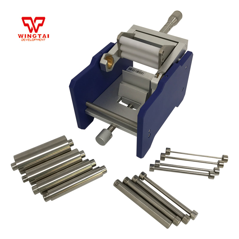 US $520 0 |ASTM D522 BGD564 Stainless Steel Bending testing Machine  Cylindrical Mandrel Bend Tester -in Pneumatic Parts from Home Improvement  on