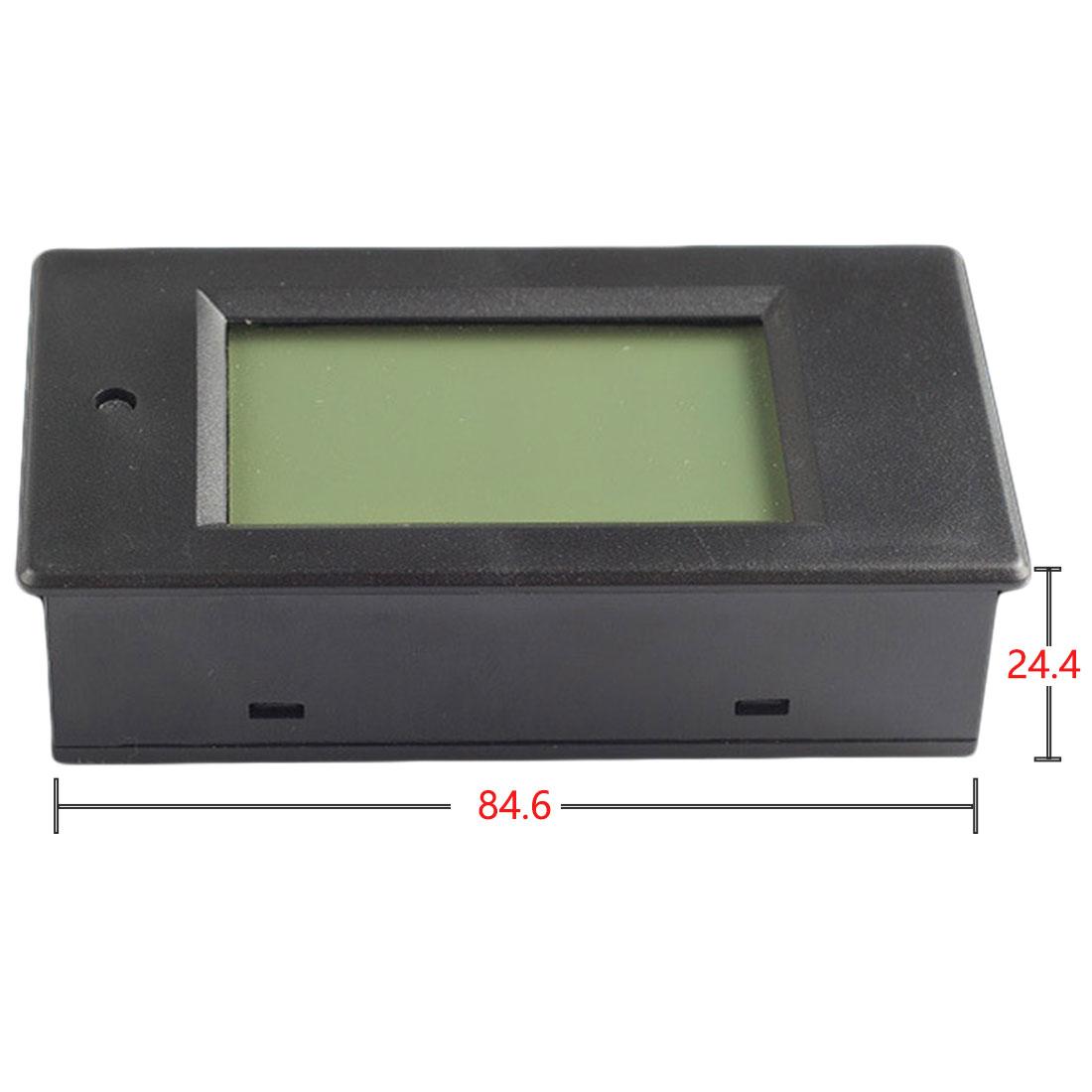 LCD Display Digital Multimeter Ammeter Voltmeter DC 6.5-100V 0-100A Current Voltage Power Energy Meter 100A Current Shunt