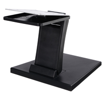 Universal 10 27inch Adjustable Folding Desk Monitor Stand Mount Touch Screen Holder