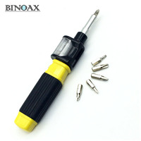 Binoax 6 in 1 Screwdriver Pocket Precision Screwdriver Bit 360 Twist-Bit Twist Bit As See On TV #ND00318#