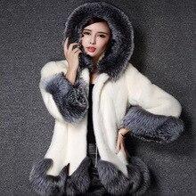 Winter Plush Coat Women Street Wear Single Buckle Warm Hat Solid Thick Coats 2019 New Girl Female Wool Blends