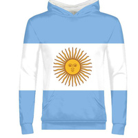 Argentina male youth custom name number ARG country gyms zipper sweatshirt flag spanish argentine nation print photo boy clothes