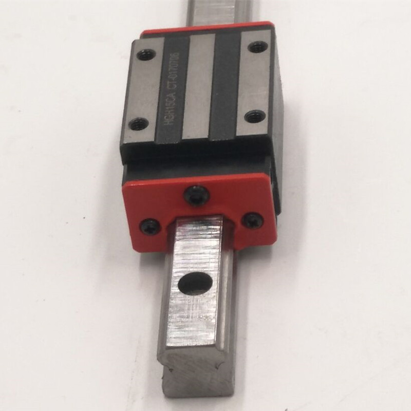 CNC Set 15-700mm 2x Linear Guideway Rail 4x Square type carriage bearing block toothed belt drive motorized stepper motor precision guide rail manufacturer guideway