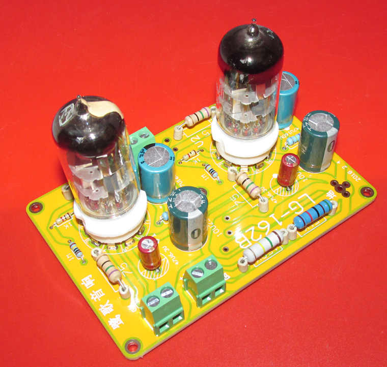 DYKB 6N11 6DJ8 Vacuum Tube Buffer Preamplifier Preamp SRPP Headphone Amplifier Board