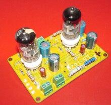 Dykb 6n11 6dj8 tubo de vácuo buffer preamp srpp amplificador fone de ouvido placa