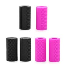 Small Silicone Barbell Dumbbell Grips Weightlifting Thick Bar Handle Protect Pad