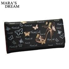Mara's Dream 2018 New Long Women Wallet Butterfly W