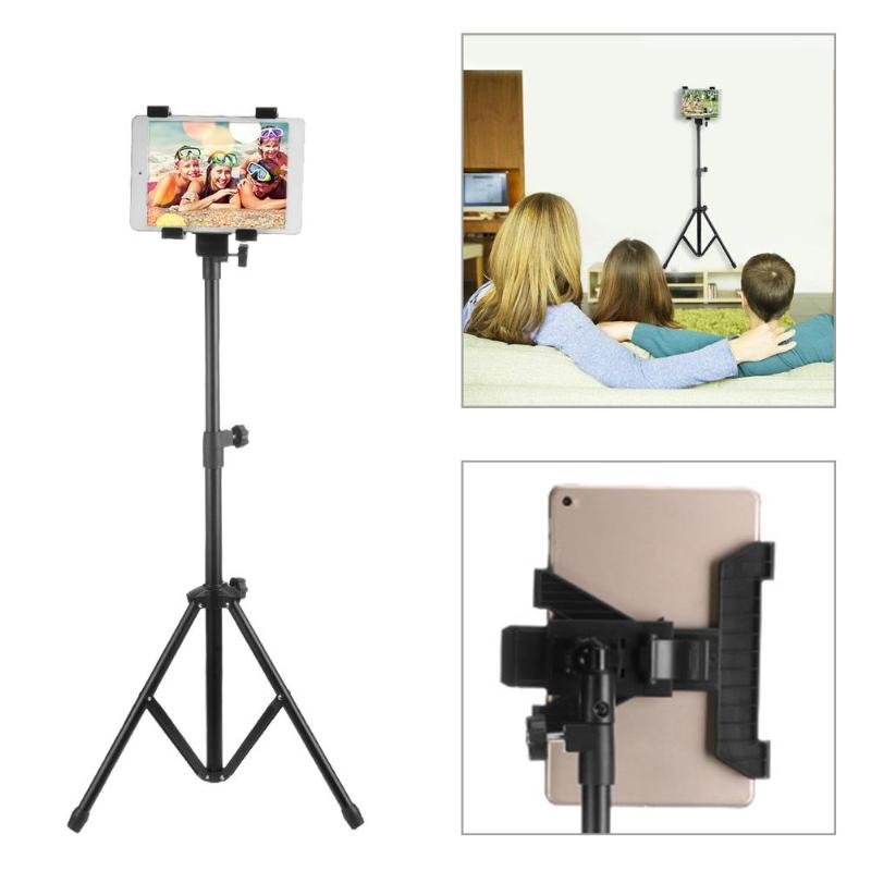 Adjustable Tripod Floor Stand Flexible Tablet Holder Bracket Music Rack Mount Support For7-13 Inch Tablets For Ipad Phone Holder