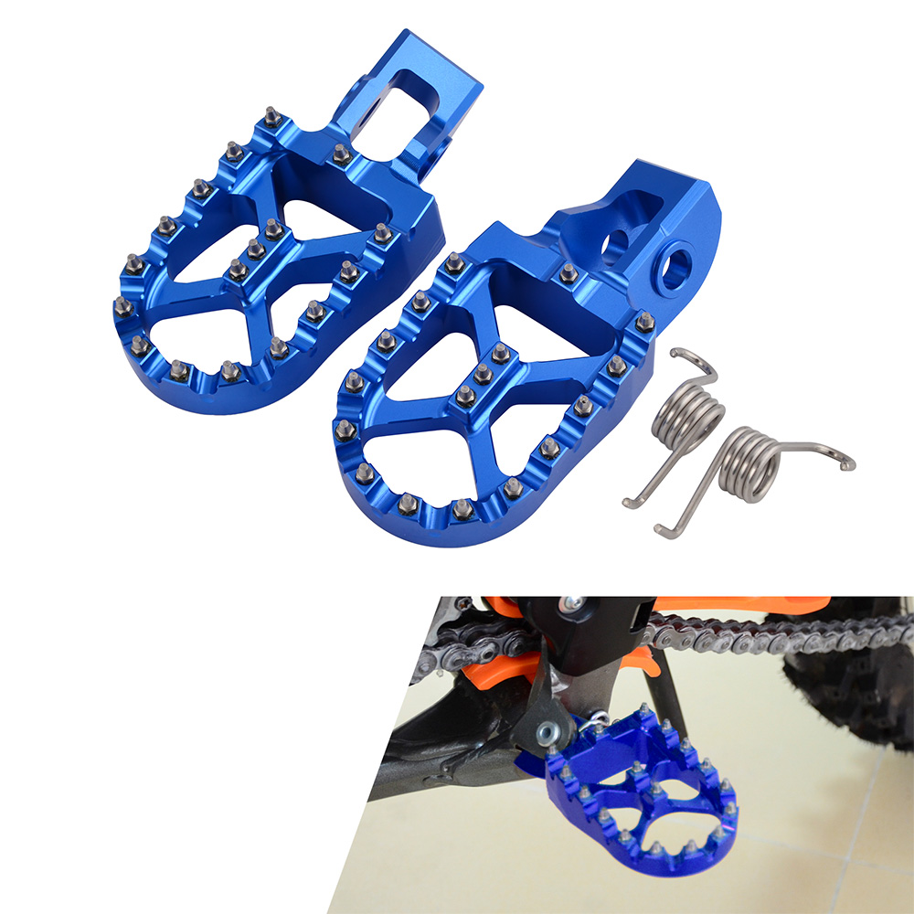 Footrests Footpegs Foot Pegs Rests For Husqvarna TC FC TE FE TX FX FS 85 125 150 200 250 300 350 390 450 501 S 16-19 2017 2018