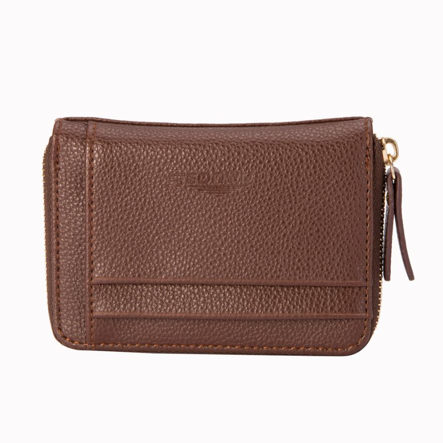Leather Men Business Wallet Vintage Purse High Quality ID Credit Card Pockets small wallet Men Leather Thin Wallet Male Slim Man