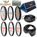 KnightX 67mm macro close up  CPL Lens Kit dslr accessories for Nikon d3200 Sony Canon 650d 70d d7200 5d mark ii Digital Camera