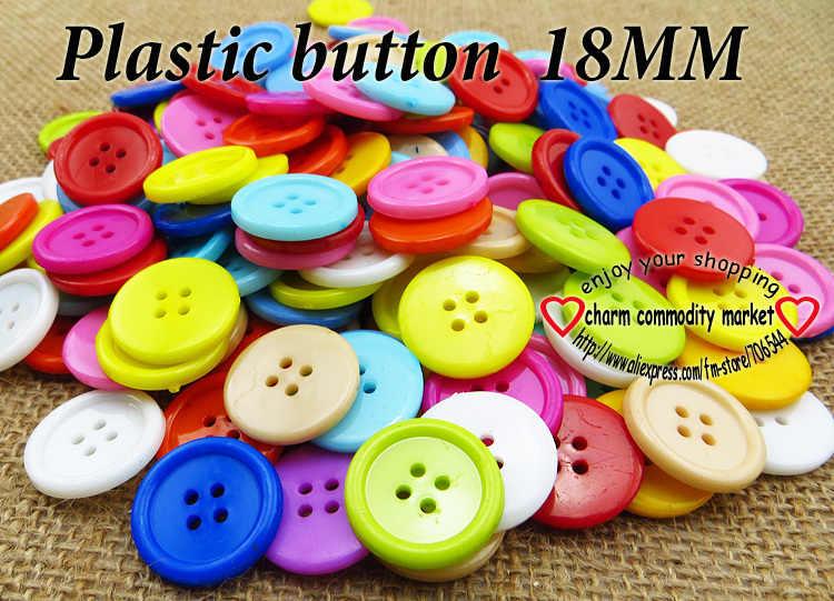 10MM 13MM 15MM 18MM 20MM 23MM 25MM 30MM kolory barwione plastikowe guziki płaszcz buty akcesorium do szycia odzieży P-111