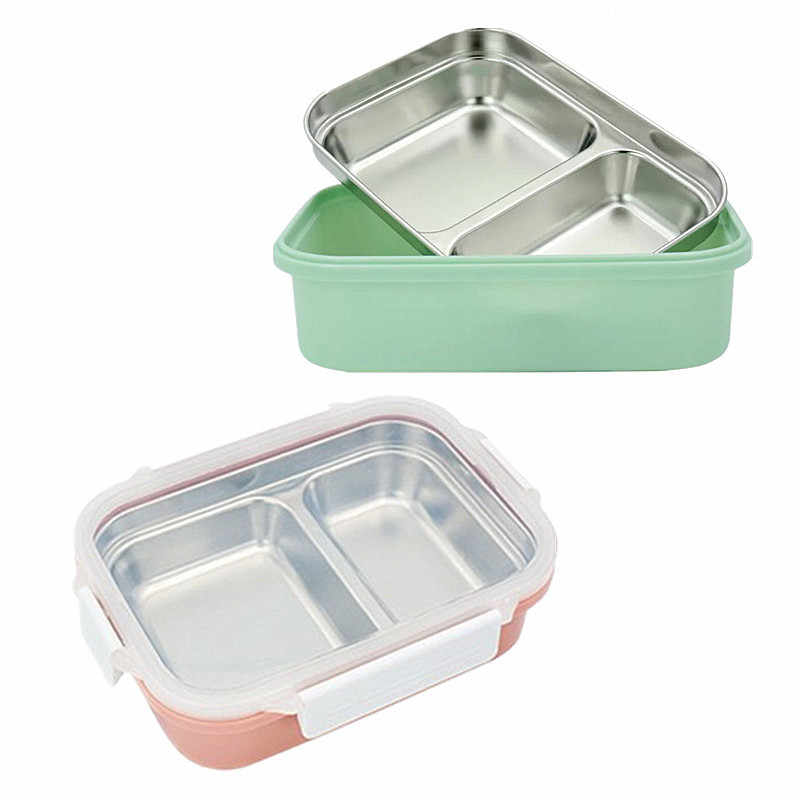 304 Stainless Steel Lunch Box 2 3
