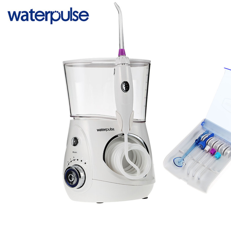 Waterpulse V660 Dental Flosser 700ML Oral Irrigation Dental Floss Irrigation Clean Massage Tooth Floss Oral Hygiene цена в Москве и Питере