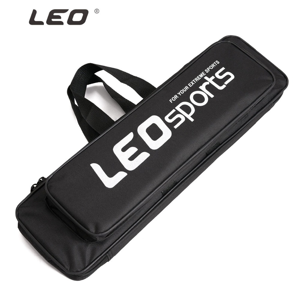 Double Layer Oxford Cloth Fishing Bag 50cm 60cm 70cm Waterproof Ice Fishing Rod Bags Case with Side Zipper Accessories Gear L30-in Fishing Bags from Sports & Entertainment