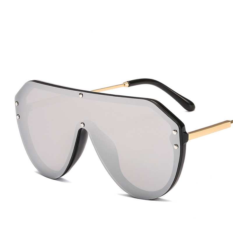 2019 New F Watermark One-piece Sunglasses PC Copy Film Men Women Sunglasses Girls Personality Colorful Fashion Wild Sun Glasse (24)