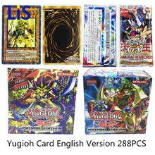 288pcs /set Yugioh Cards Kids Game Cards Toys English Version Boys Girls Yu Gi Oh Game Collection Cards Christmas Gift Brinquedo(China)