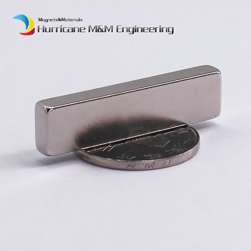 1 Pack NdFeB Block 40x10x5 (+/-0.1)mm Tool Holding Magnet Bar Strong Neodymium Permanent Magnets Rare Earth Lifting Magnets N42 ndfeb magnet block 40x25x10 mm super strong magnet neodymium permanent magnets rare earth magnets grade n42 nicuni plated
