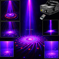 New Red Blue Laser 12 Big Patterns Blue LED Club Home Holiday Party Bar Xmas DJ Light Dance Disco Party Stage Lights show B179