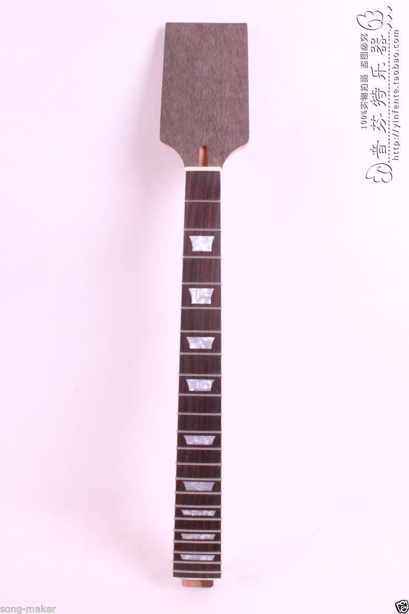 New Electric Guitar Neck Solid wood Fretboard Paddle 24.75 inch 22 fret new 1pcs electric guitar neck maple wood fretboard paddle 22 fret 25 5 bolt on