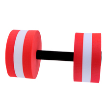 1 Piece Water Aerobics Aquatic Dumbbells Women Set for Fitness Training EVA Foam Barbell Pool Workout Exercise Tool