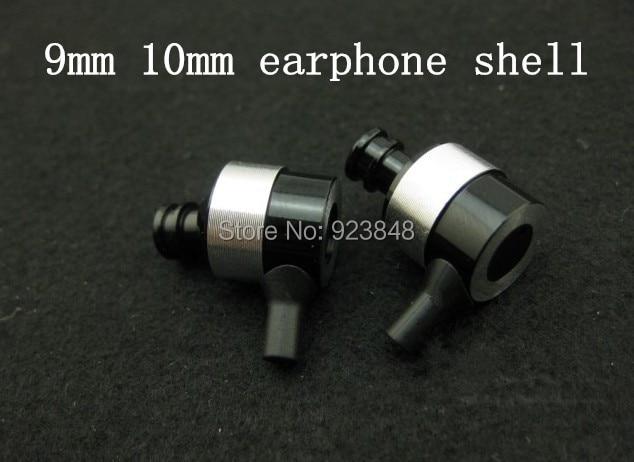 DIY repair metal earphone shell  10mm 9MM earphone shell 2pairs
