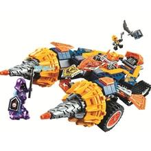 BELA Nexo Knights Axl s Rumble Maker Building Blocks Sets Kits Bricks Classic Model Kids Toys