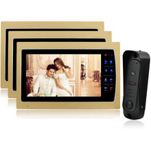 Homefong 7 inch LCD Wired Video Door Phone Intercom Home Security  Night Vision 1200TVL Camera Support SD Card Recording