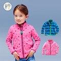 V-TREE 2016 polar do velo crianças outerwear & casacos moda jacket for girls softy infantil casaco cardigan menina da roupa do bebê