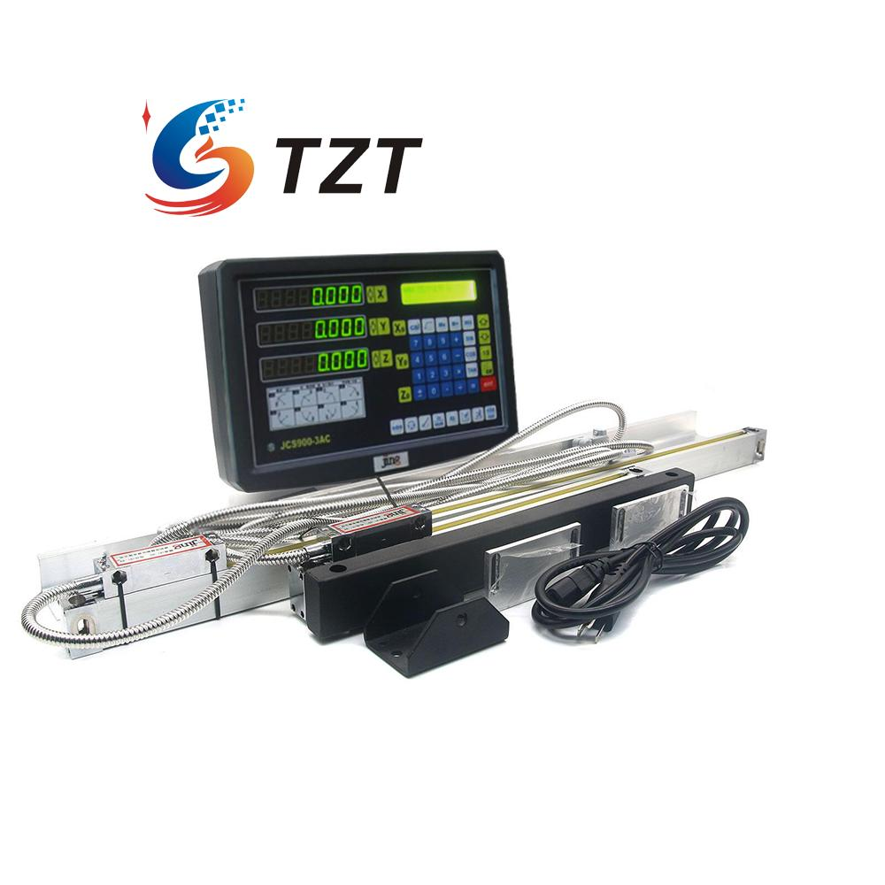 3 Axis Digital Readout Dro for Milling Lathe Machine with 3PCS Procision Linear Scale free shipping complete set milling lathe drill machine dro digital readout with 3 pcs linear scales