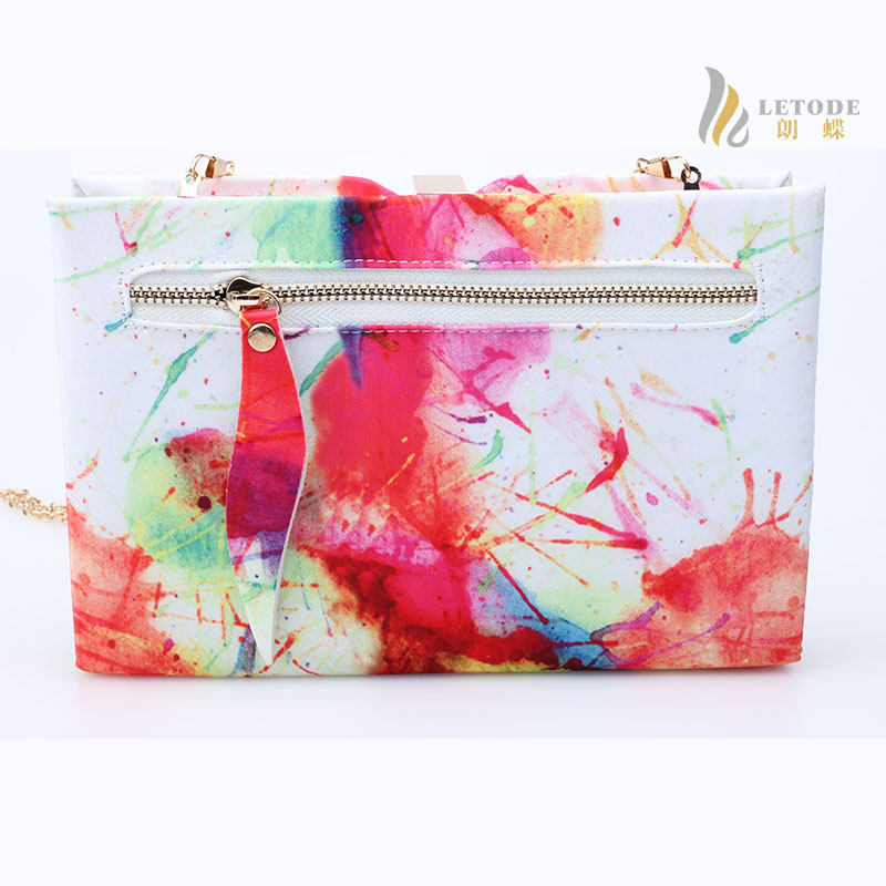 6943640155b Colourful cloth flap hasp Evening bags with solid bag women new design book  shape clutch handbags wedding party purse 8215 1-in Top-Handle Bags from  Luggage ...