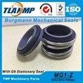 MG1/53-Z   MG1/53-G6   MG1/53-G9   MG1-53 Repalce Burgmann механические уплотнения резиновые ниже с G6 стационарным сиденьем