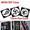 MOD DIY 12cm X 12cm Fan Cover Radiator Decorative Cover Water Cooling Accessories Liquid Cooler System use for 12cm Fans