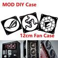 MOD de 12 cm X 12 cm cubierta del ventilador del radiador de agua de refrigeración accesorios líquido sistema refrigerador de uso para 12 cm Fans