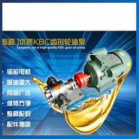 KCB 55 Heavy Oil Transfer Pump With 1 5KW Explosion Proof Motor Gasoline Oil Pump