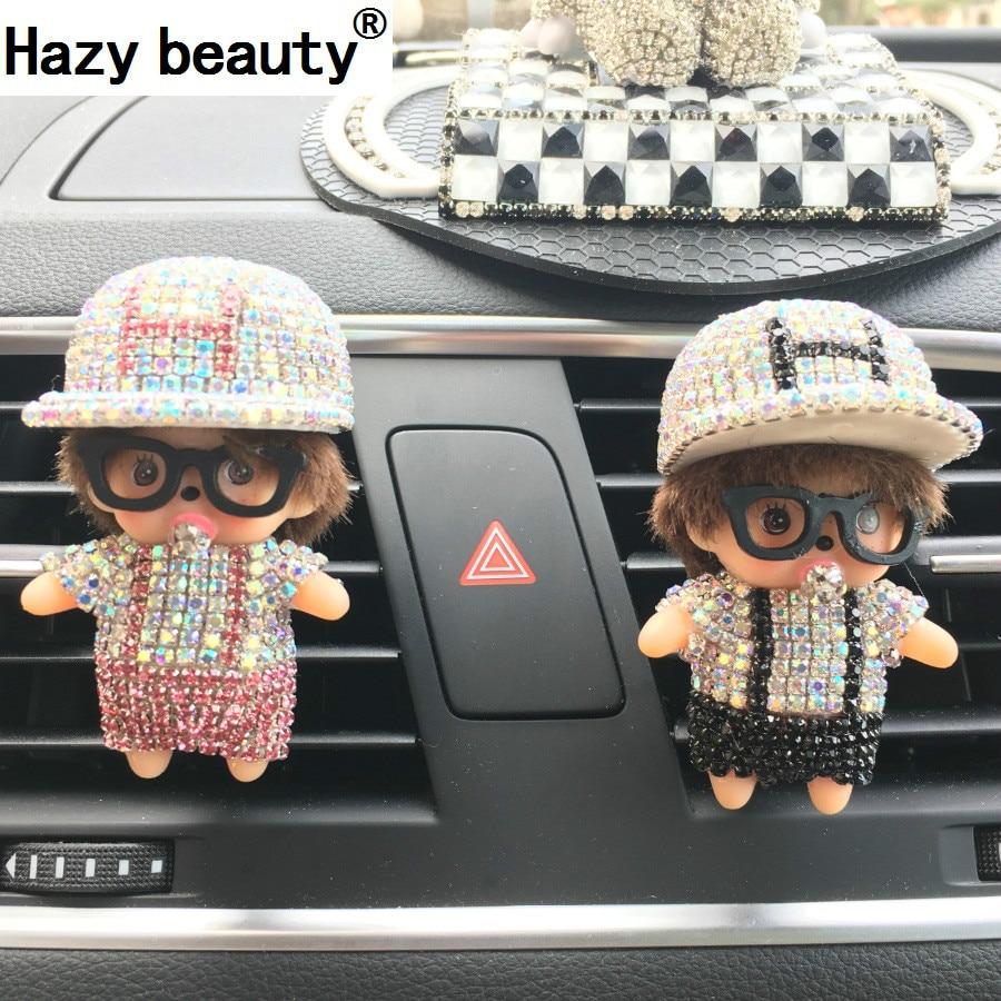 Hazy beauty Perfumes New Kiki Outlet H Cap Baseball Cap Perfume Diamond Automotive Interior Automotive Supplies