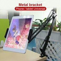 Universal Tablet Bracket Holder 4.3 11.6 Inches Tablet Holder Supplies Portable Tablet Support Support