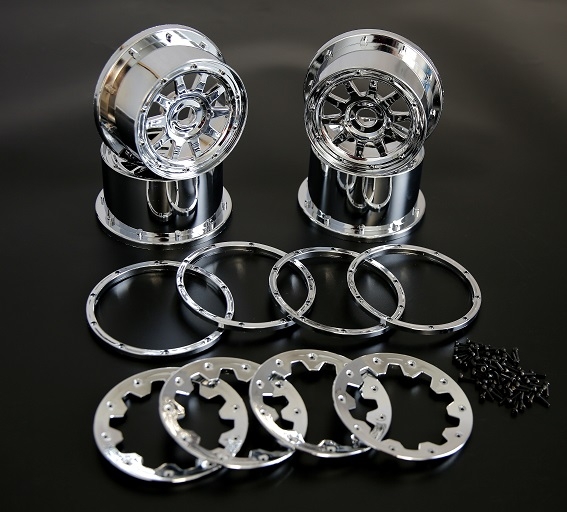 Rovan part 1/5 scale Baja 5B high strength New chrome wheel hub beadlock and screw set rear wheel hub for mazda 3 bk 2003 2008 bbm2 26 15xa bbm2 26 15xb bp4k 26 15xa bp4k 26 15xb bp4k 26 15xc bp4k 26 15xd