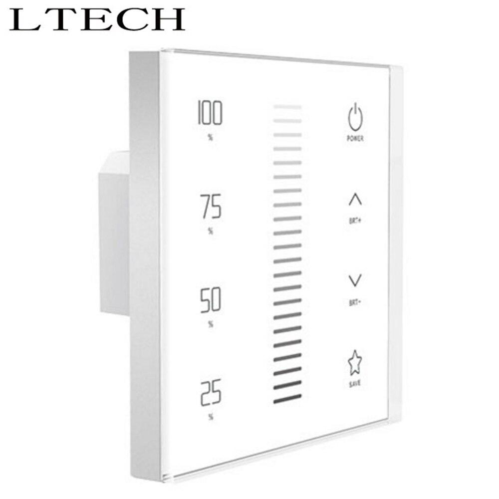 Befangen Gehemmt Selbstbewusst Verlegen Xnbada Ltech Led Dimmen Touch Panel Ex1s Wand Halterung Led Dimmer Ac100 ~ 240 V Eingang Dmx512 Ausgang Für Led Lichter Rf 2,4 Ghz Unsicher