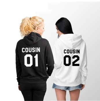 Sugarbaby Cousin 01 02 Hoodies Matching Family Gift for Long Sleeve Casual Hoodie High quality Tops