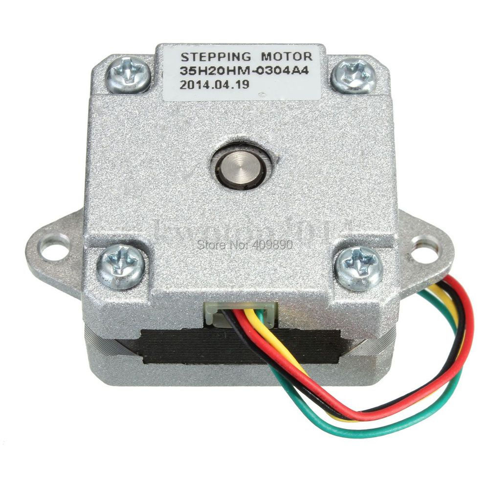 2 Phase 4 Wire 35 Stepper Motor 0.9 degree 20mm 3D printer Stepping ...
