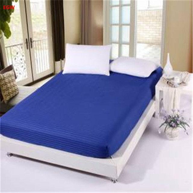 Ed Sheet With Rubber Mattress Cover Elastic Blanket Bedspread Bedclothes Cushion Bed