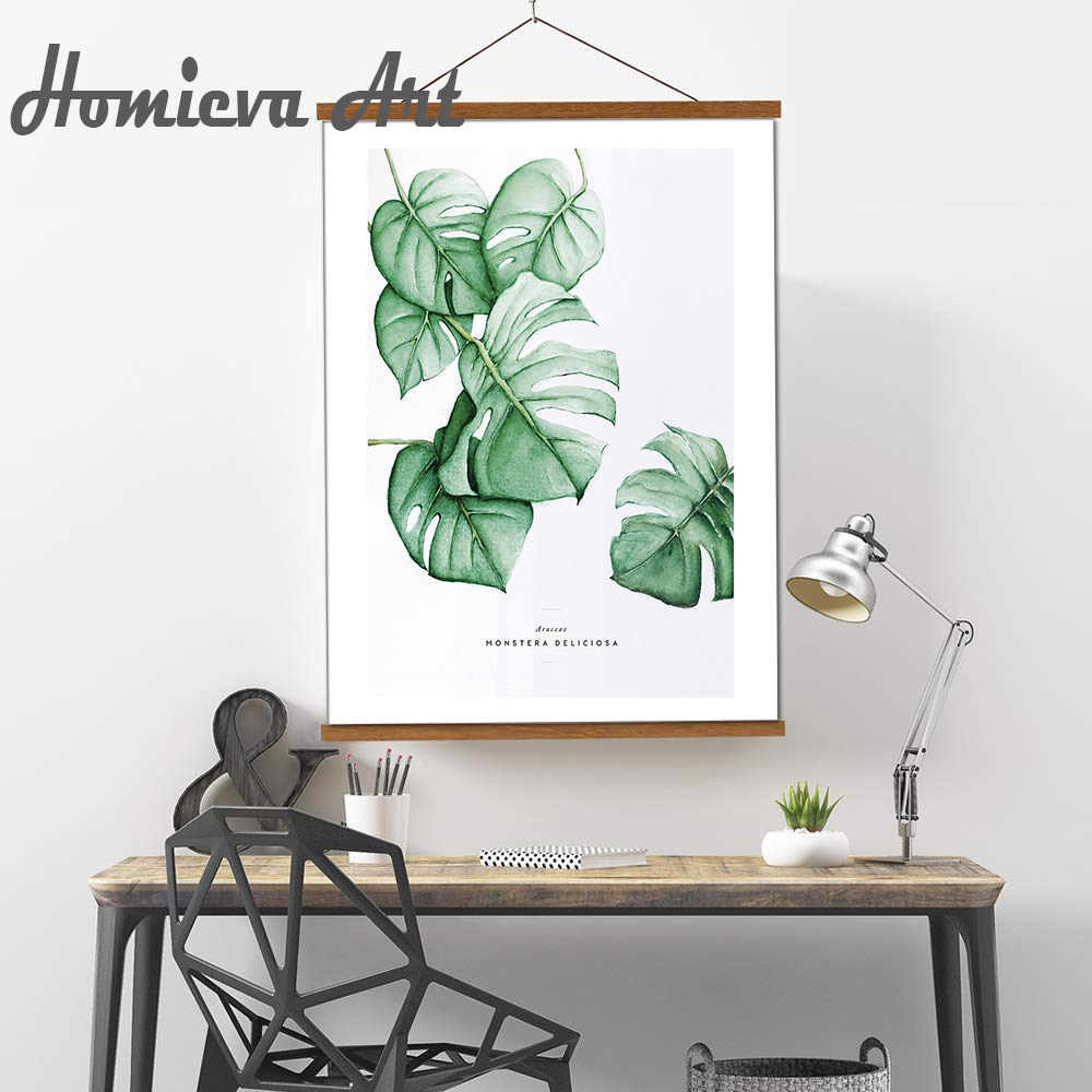 Colourful Green plants Animal FLOWER Collection Nordic Poster Prints Modern Canvas Painting Wall Art Picture Home Decoration in Painting Calligraphy from Home Garden